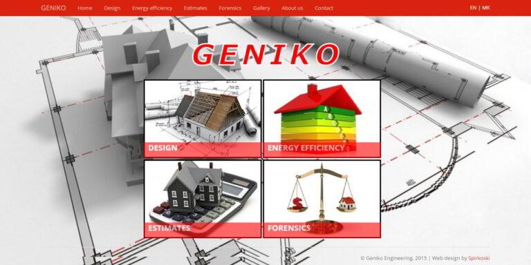 Geniko - building company