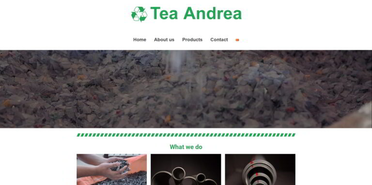 Tea Andrea - PVC and PP pipes production