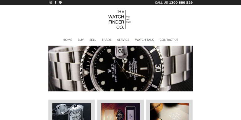 The Watch Finder Co. - exclusive watch store