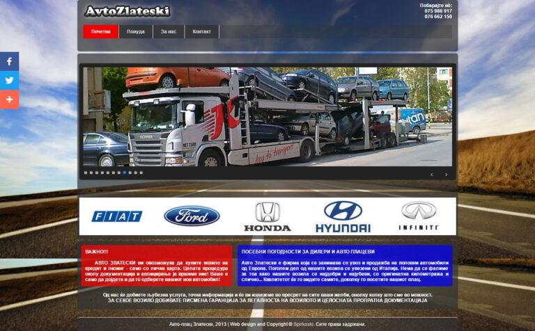AvtoZlateski - used car seller