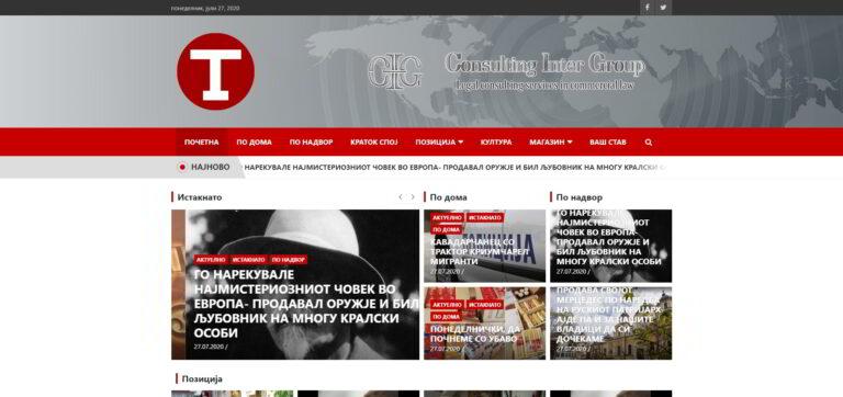 Tribuna - web portal